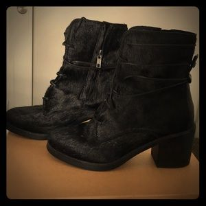 UGG Oriana cow hair boots, Like new